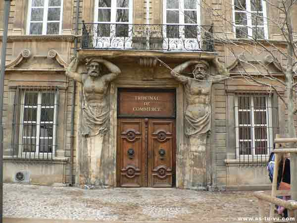 Cours mirabeau photo d 39 aix en provence - Tribunal de commerce de salon de provence ...